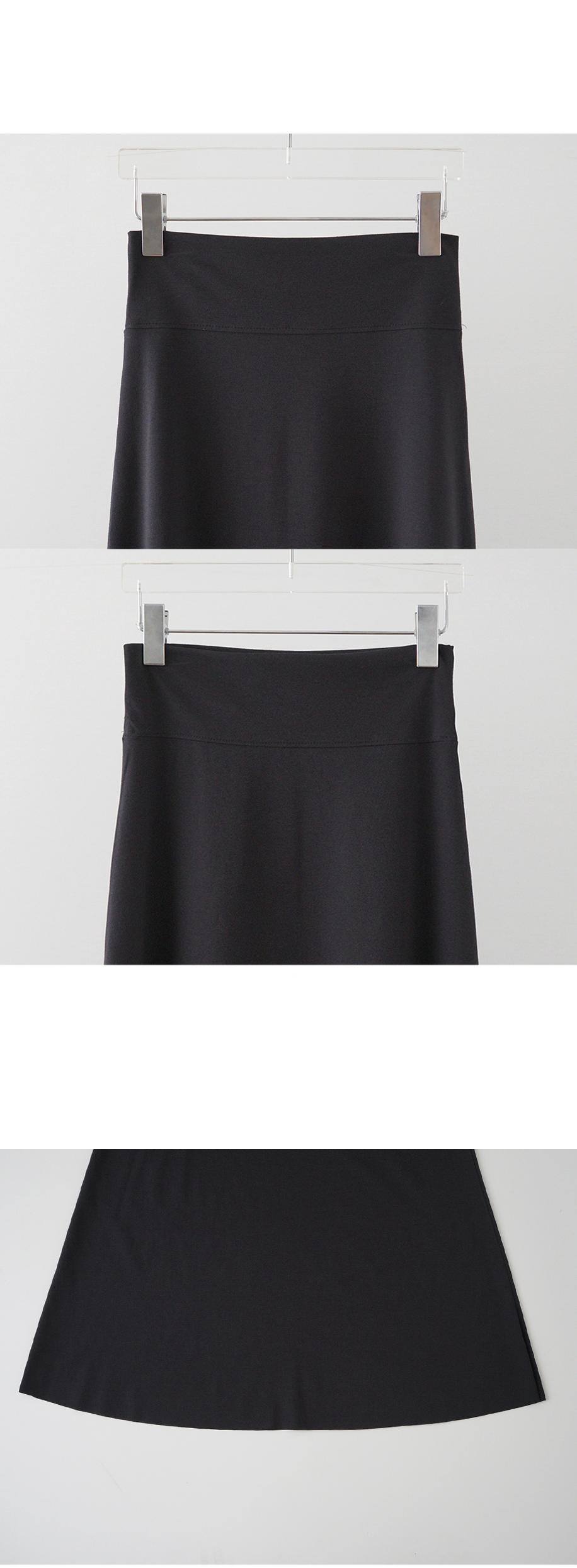 jersey long skirt
