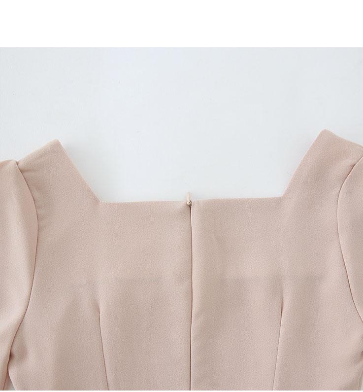 Mulan-incision dress