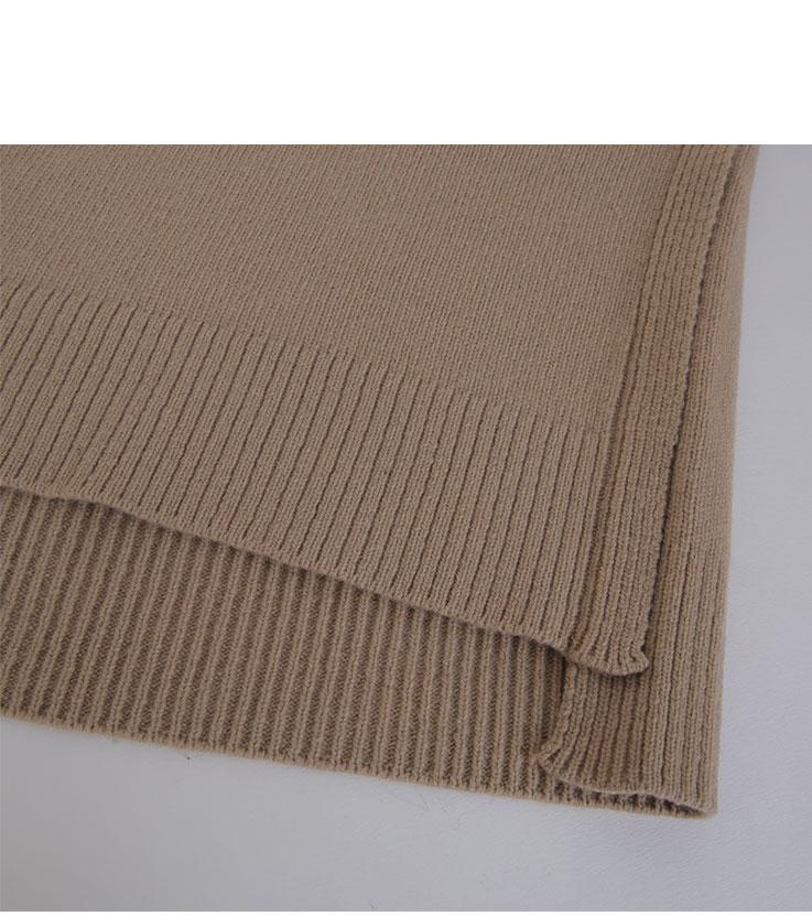 Lemoncandy-turtleneck knit