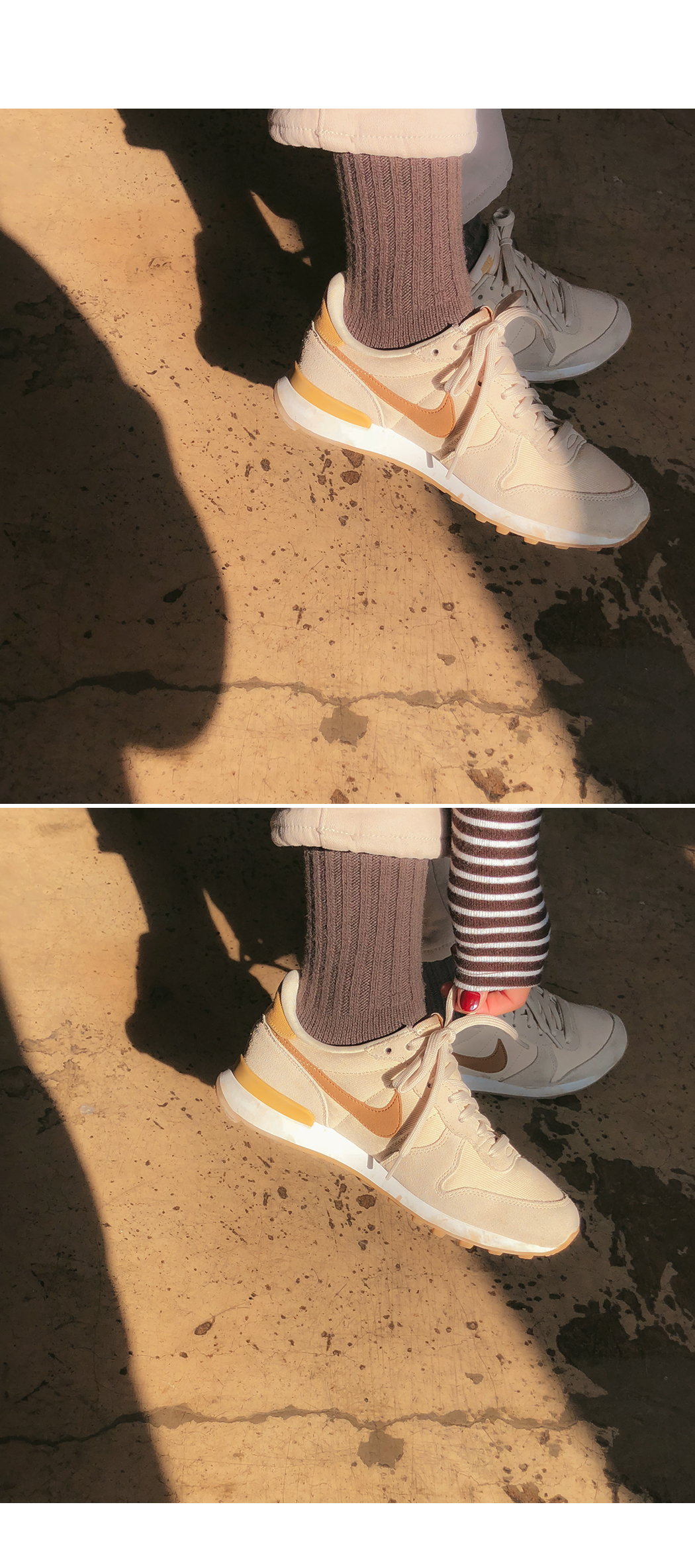Need - Wool Cache Knit Socks
