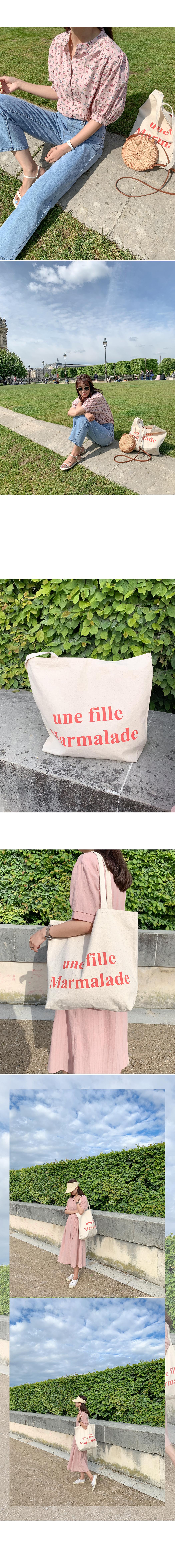 Marmalade♥.Une Fille eco bag