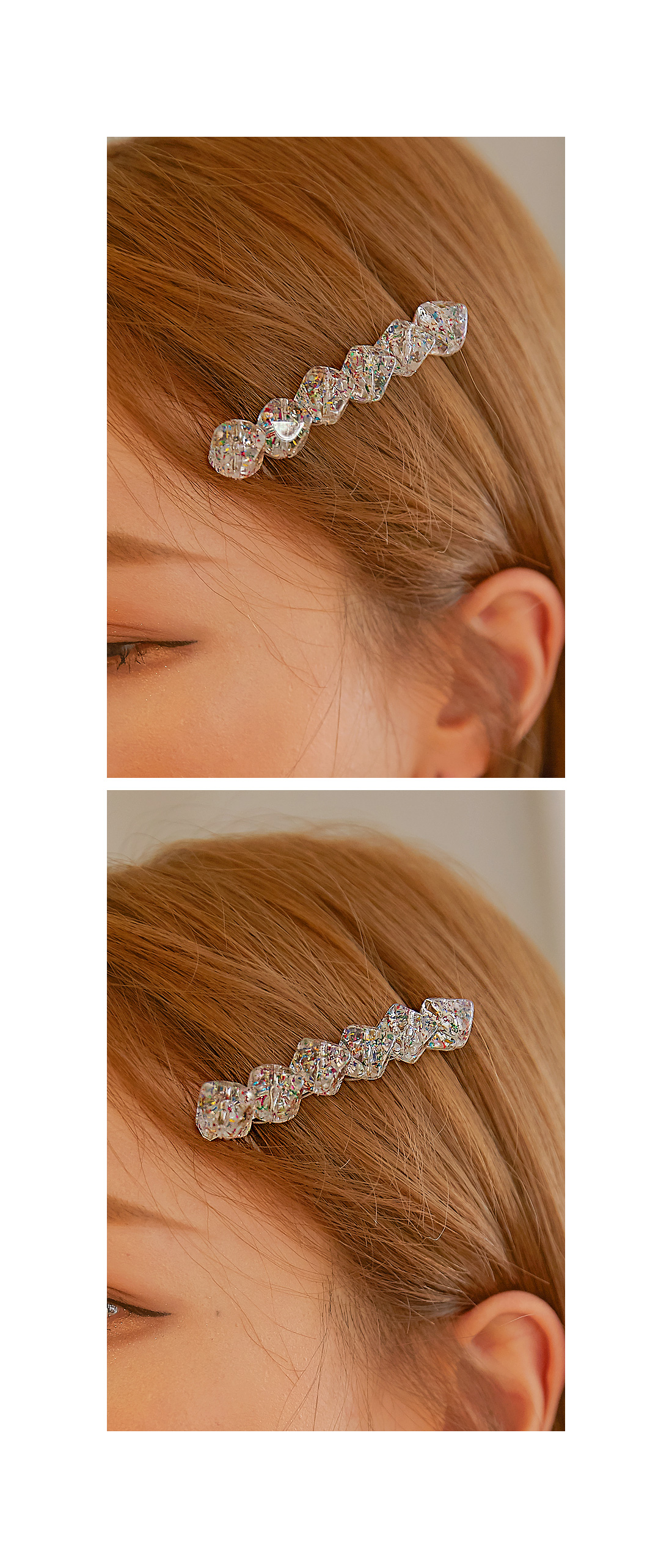 POELL COLOR STONE HAIR PIN