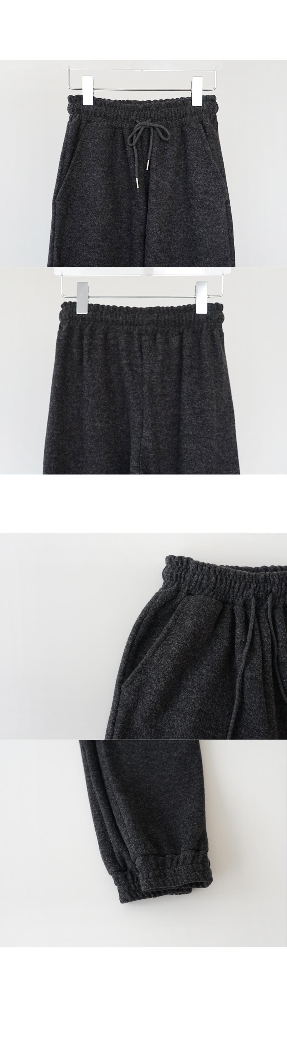 snug banding jogger pants (2colors)