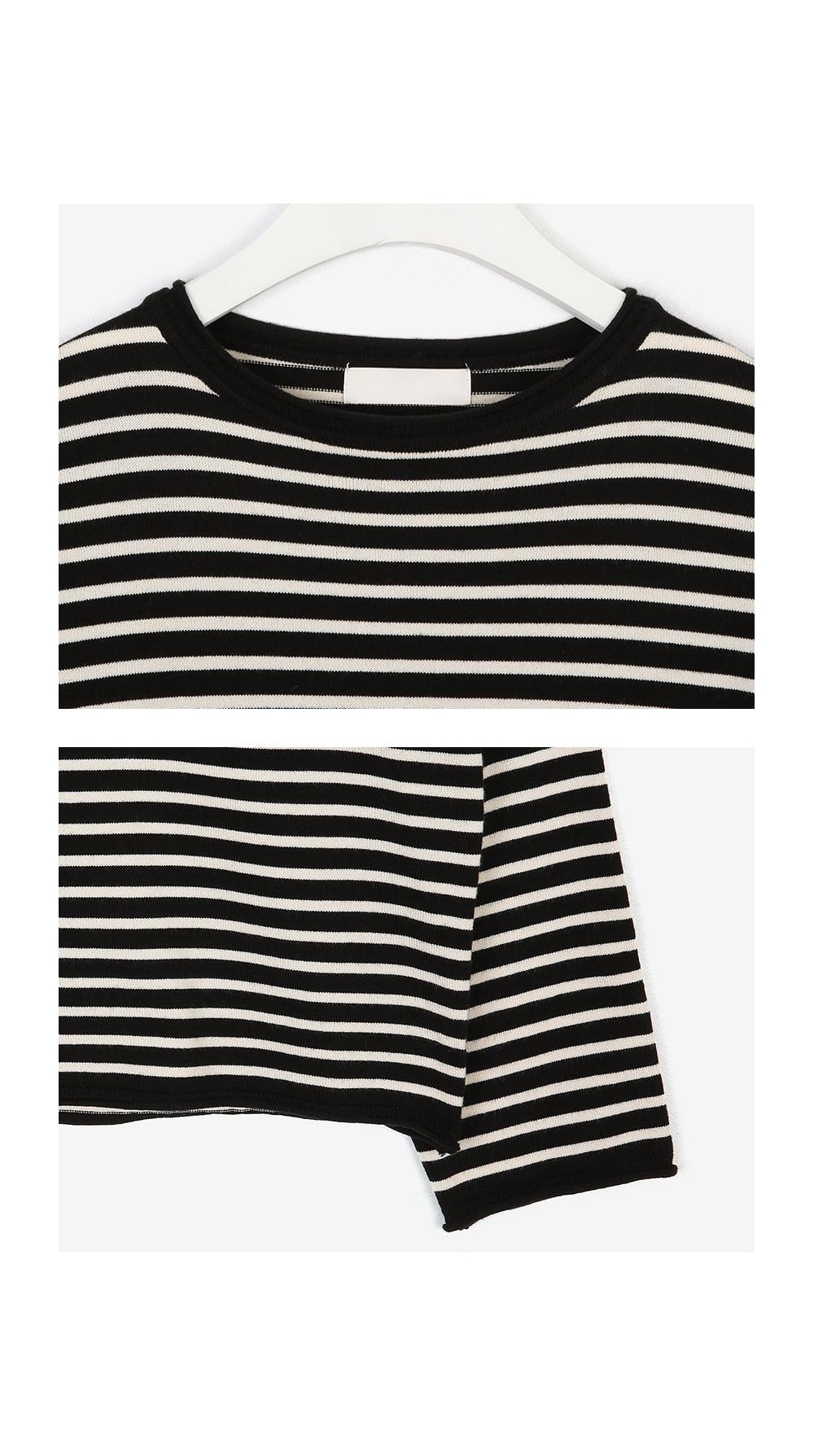 bean sand stripe knit