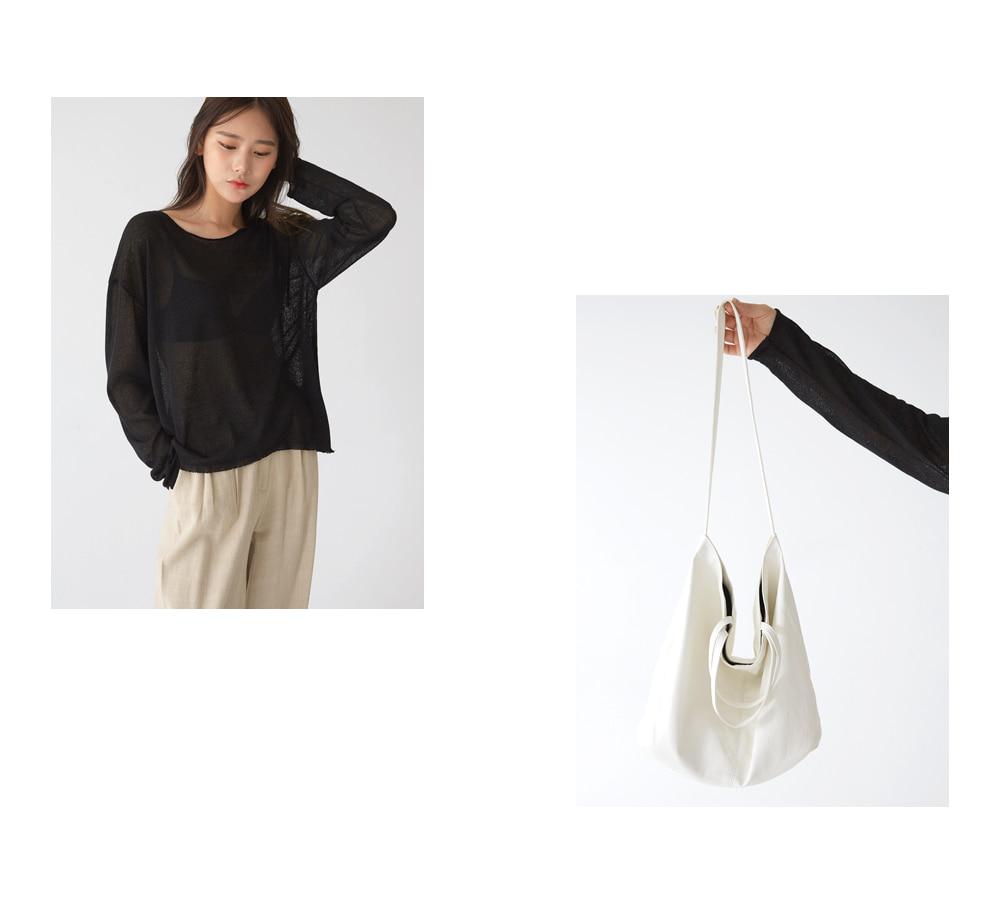 ada see-through knit