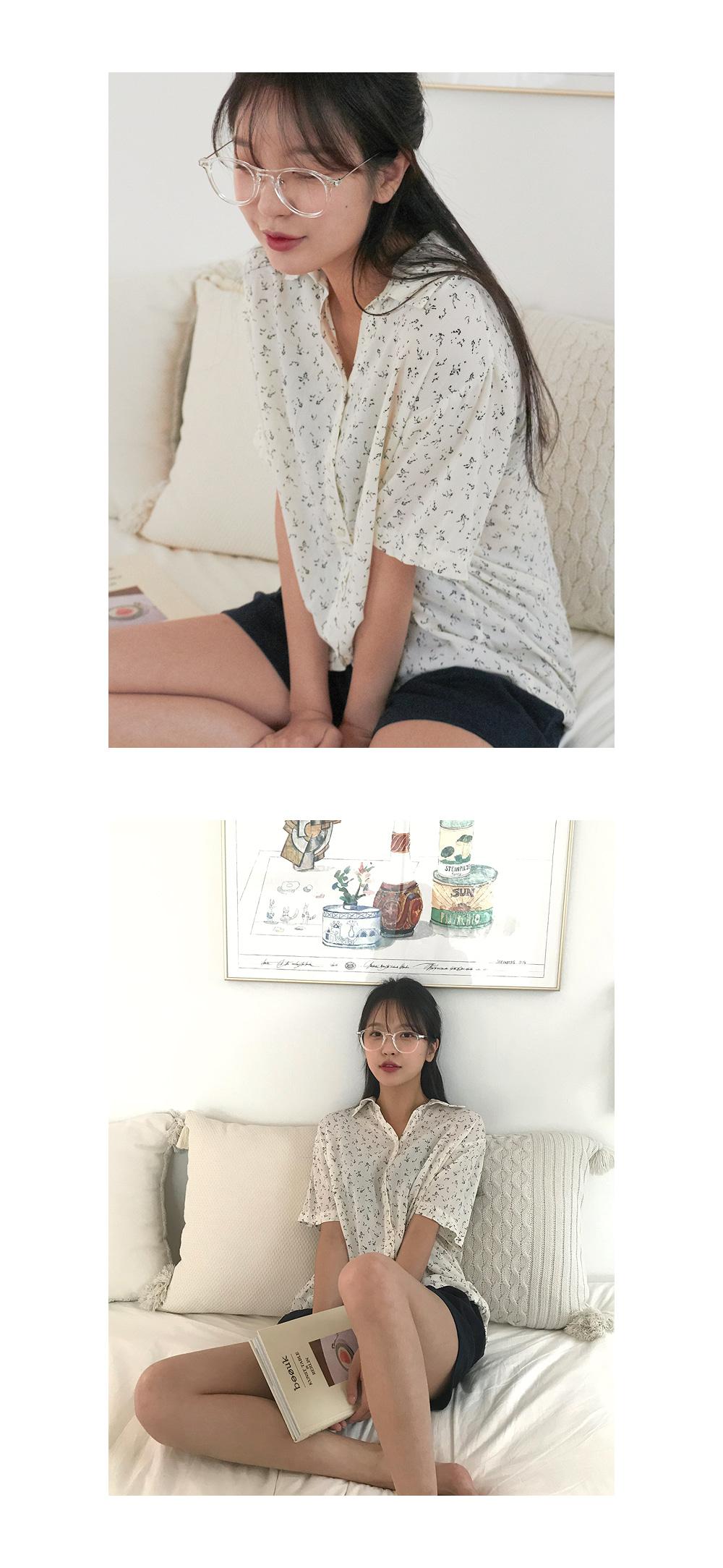 kate vintage linen blouse