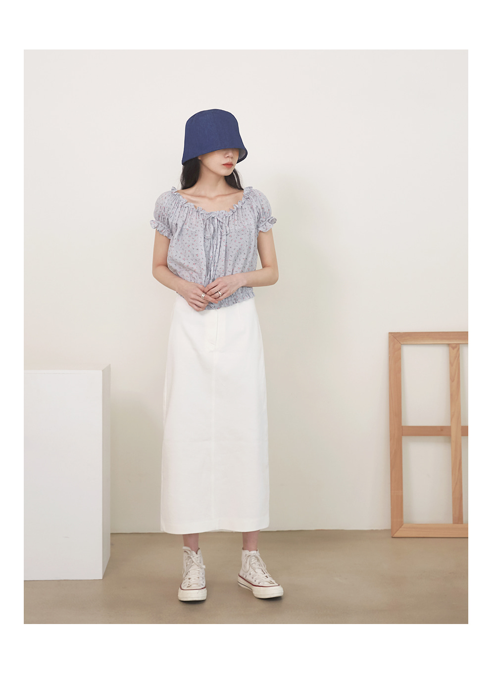 holic summer long skirt