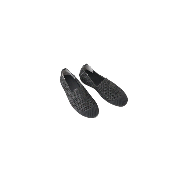 rubber round flat shoes