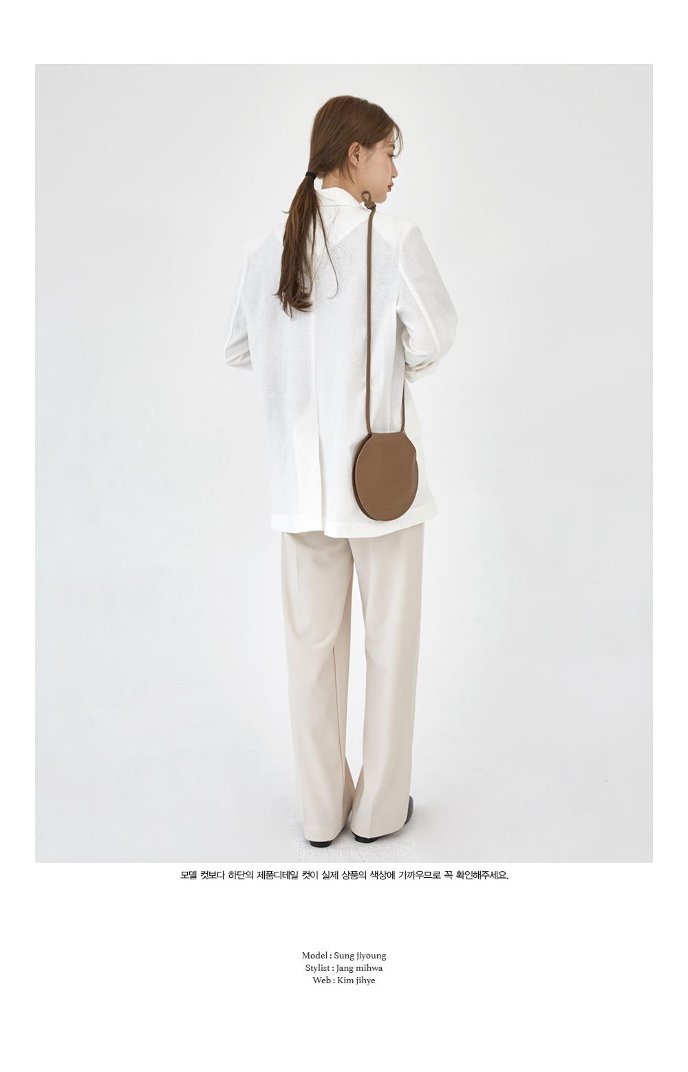 thin linen simple jacket