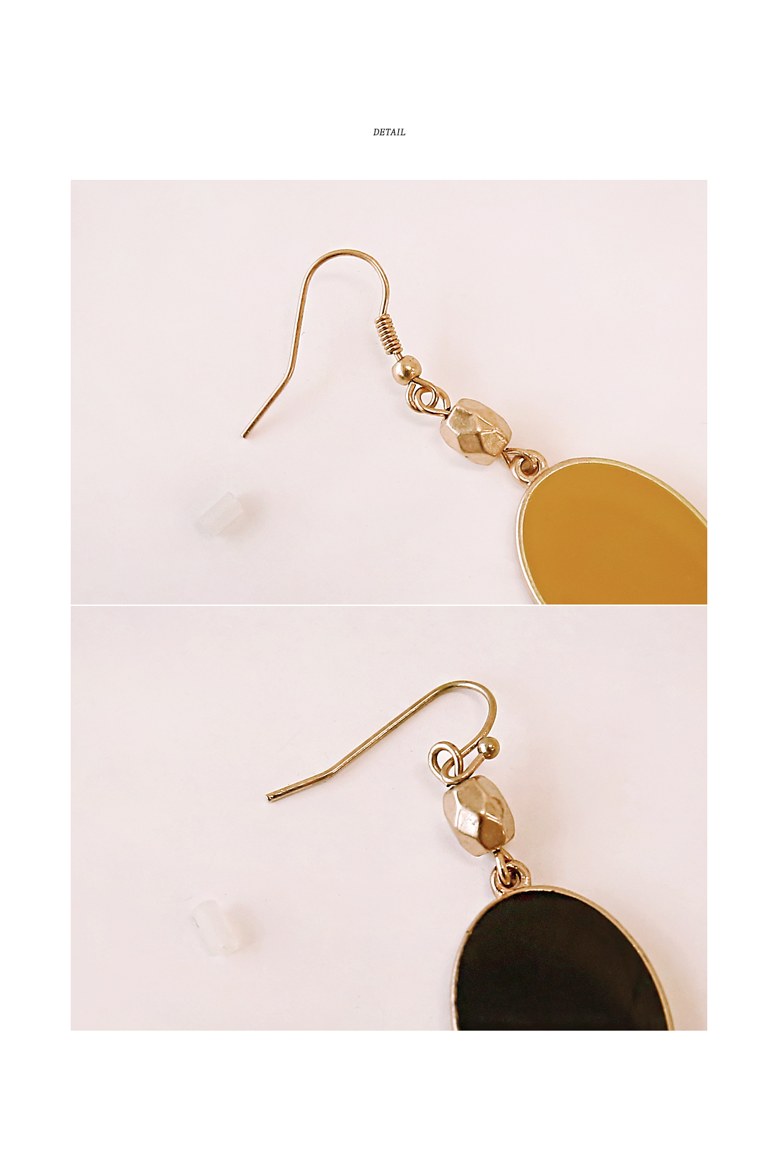 VINTAGE CIRCLE DROP EARRING