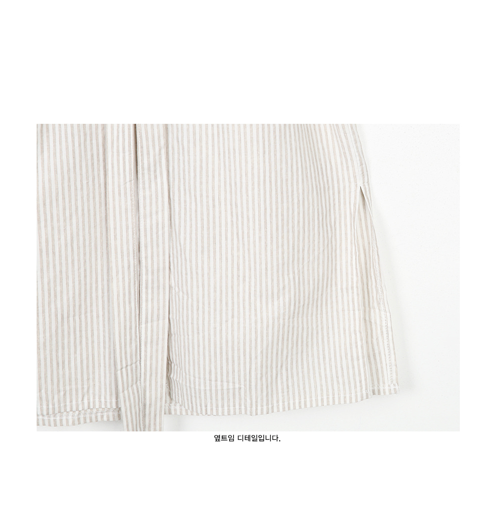 stripe chinese collar ops