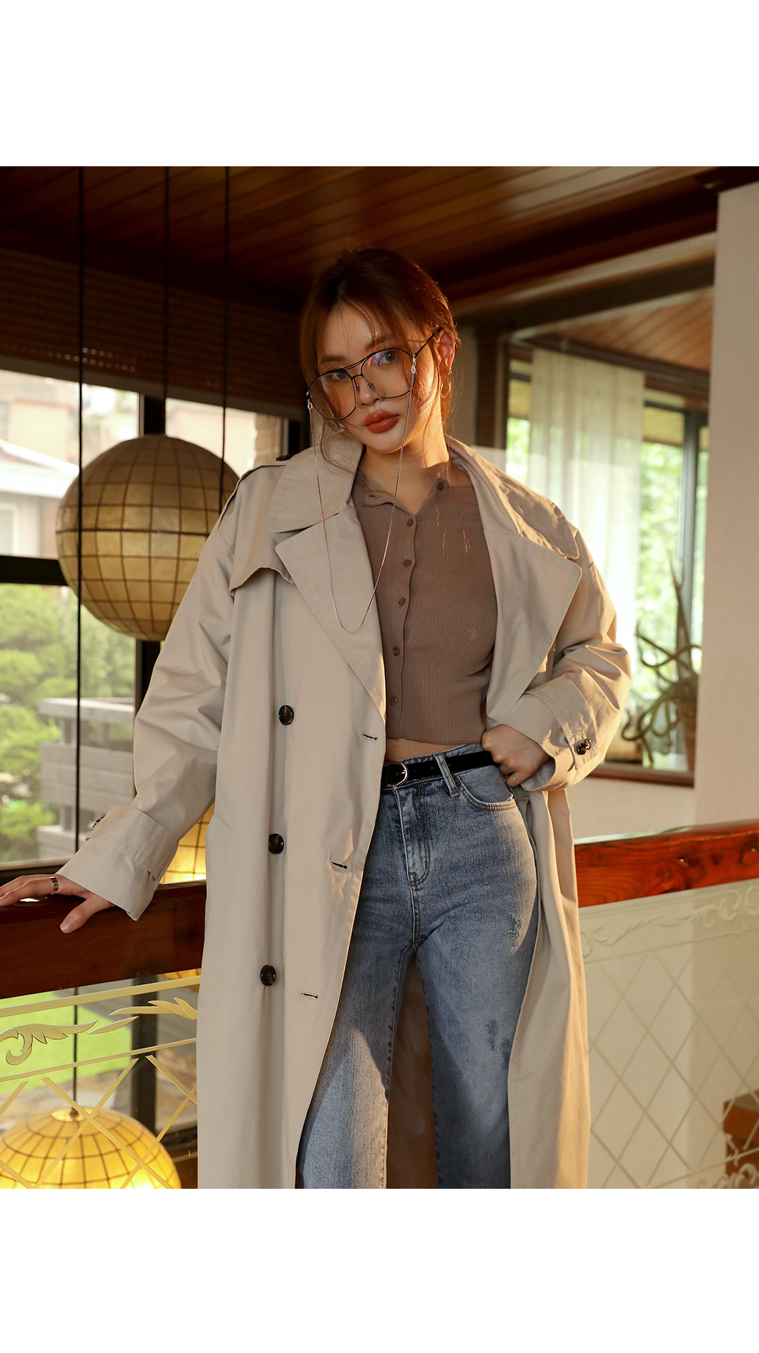 [OUTER] LISSOME SLEEVE CROP CARDIGAN