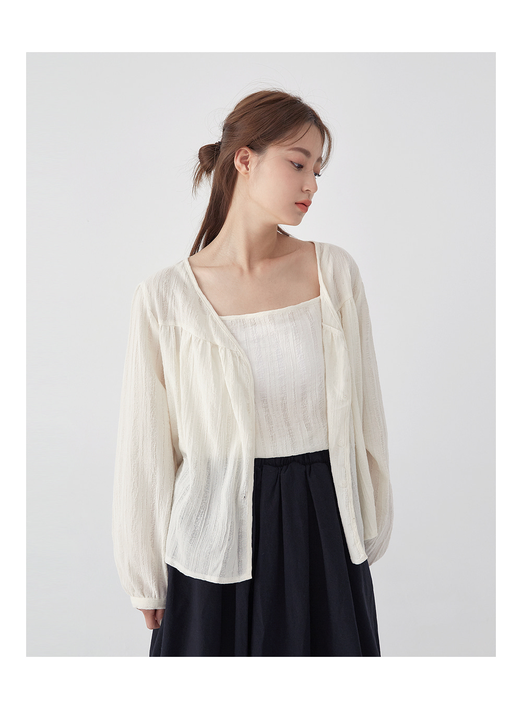 string side ribbon skirt