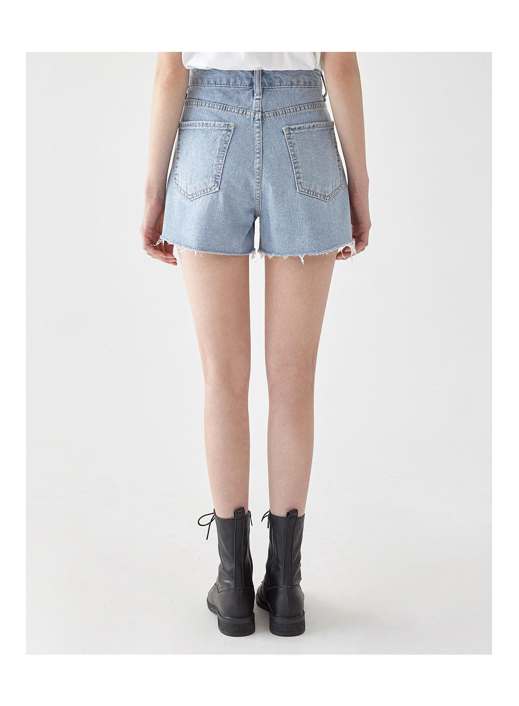 blur cutting cotton pants (s, m, l)