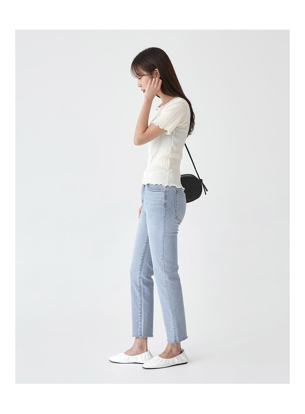 daily light denim pants