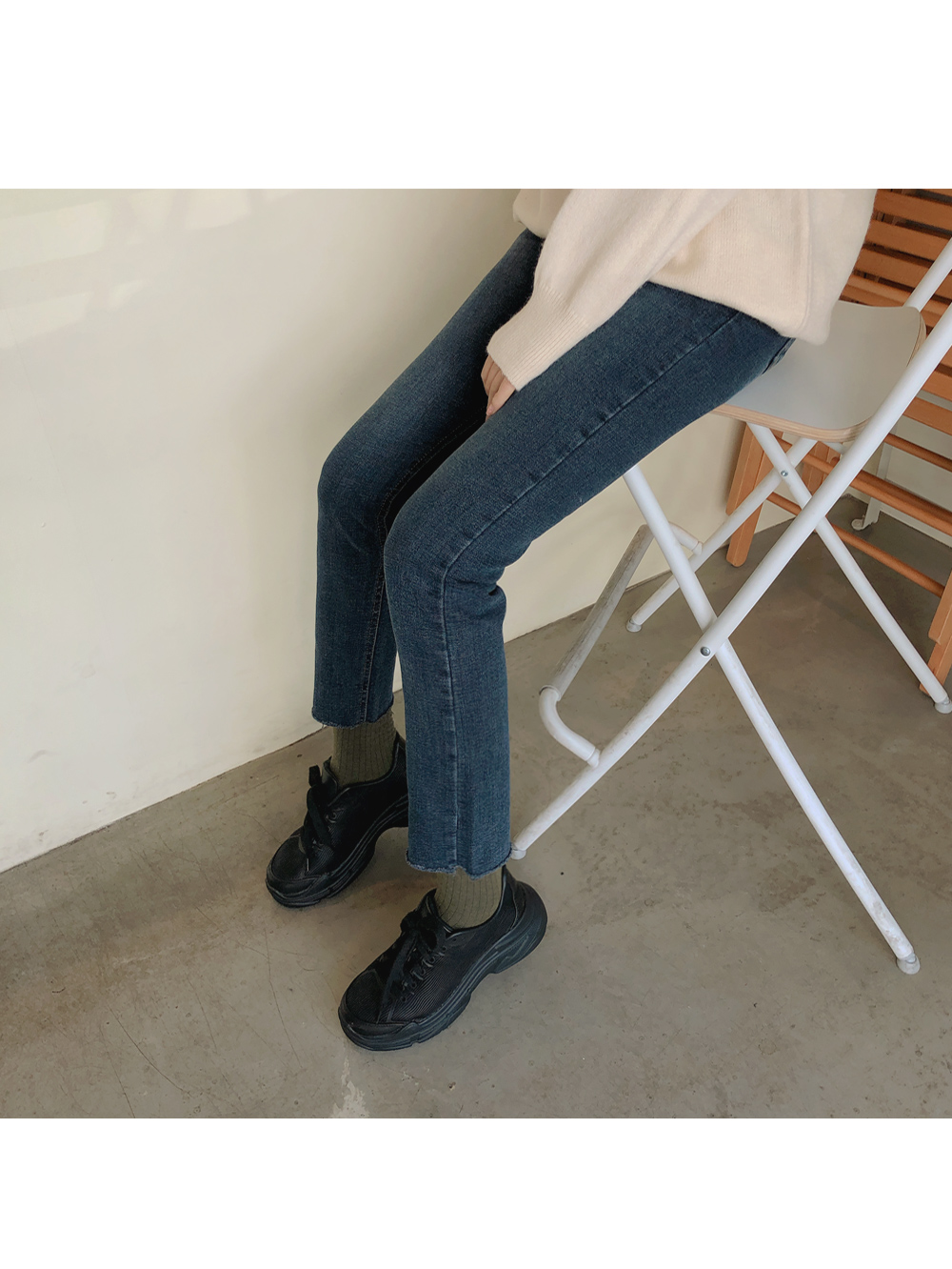 Daily slim fit brushed pants
