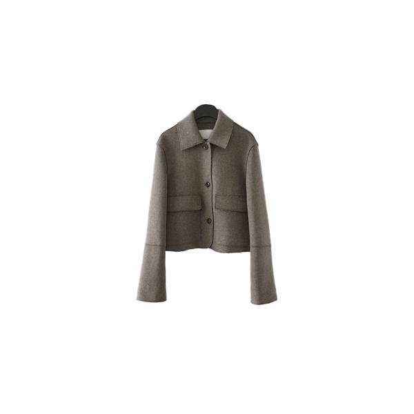 minimal mood short jacket