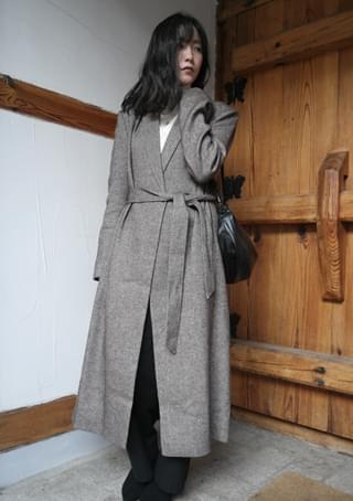standard belted coat (2colors)