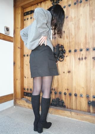 cargo pocket mini skirt