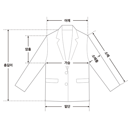 eve unbalance button jacket