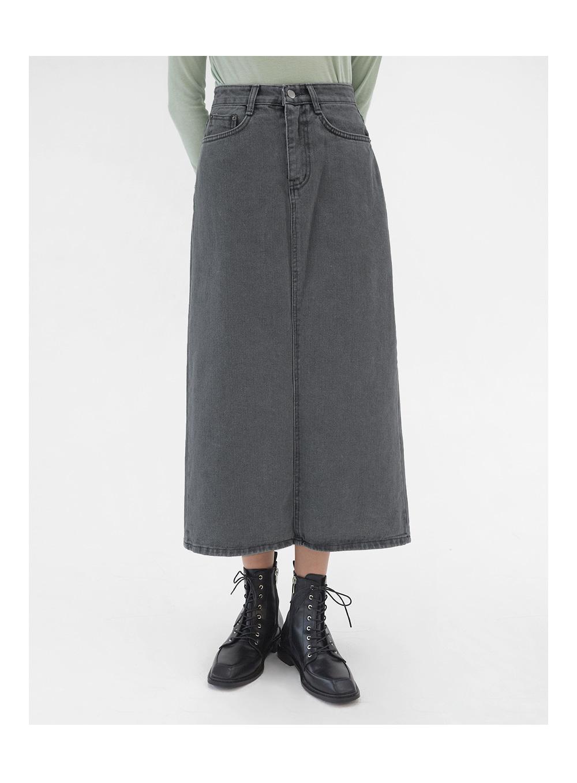 alika denim long skirts