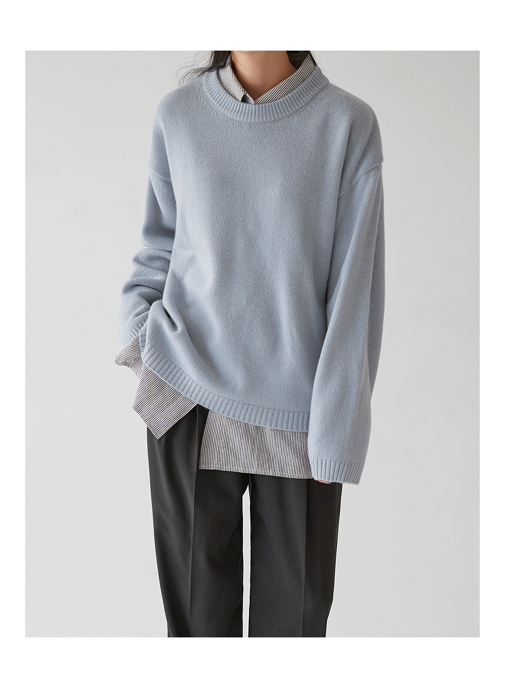 soft cream wool knit