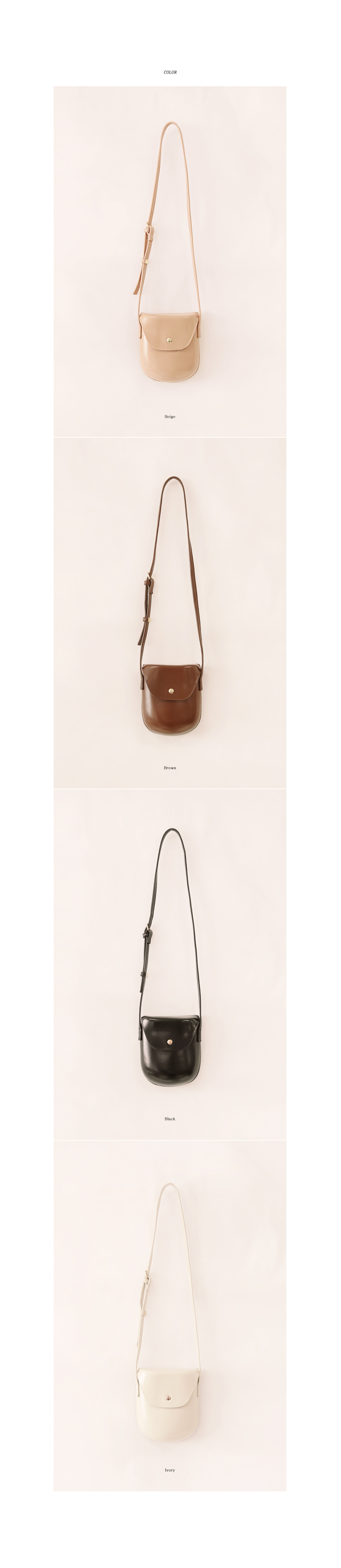 BEAN BREAD MINI LEATHER BAG