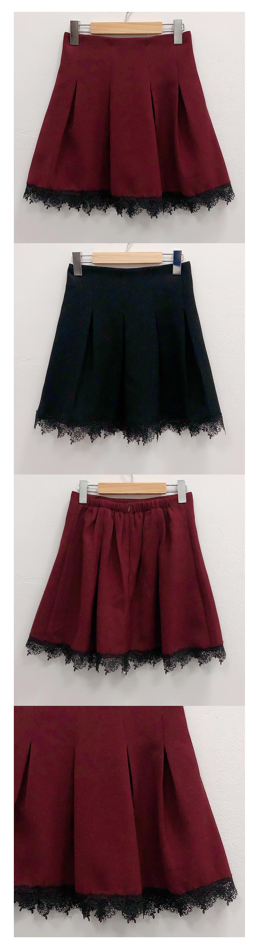 Charo Lace Skirt Pants