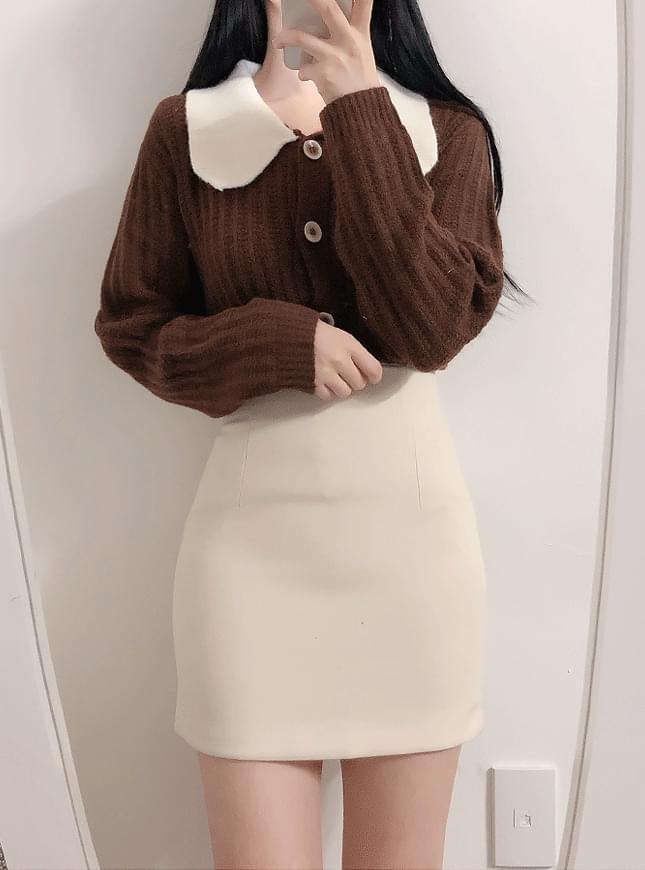 New discount ♥ and h H-line skirt