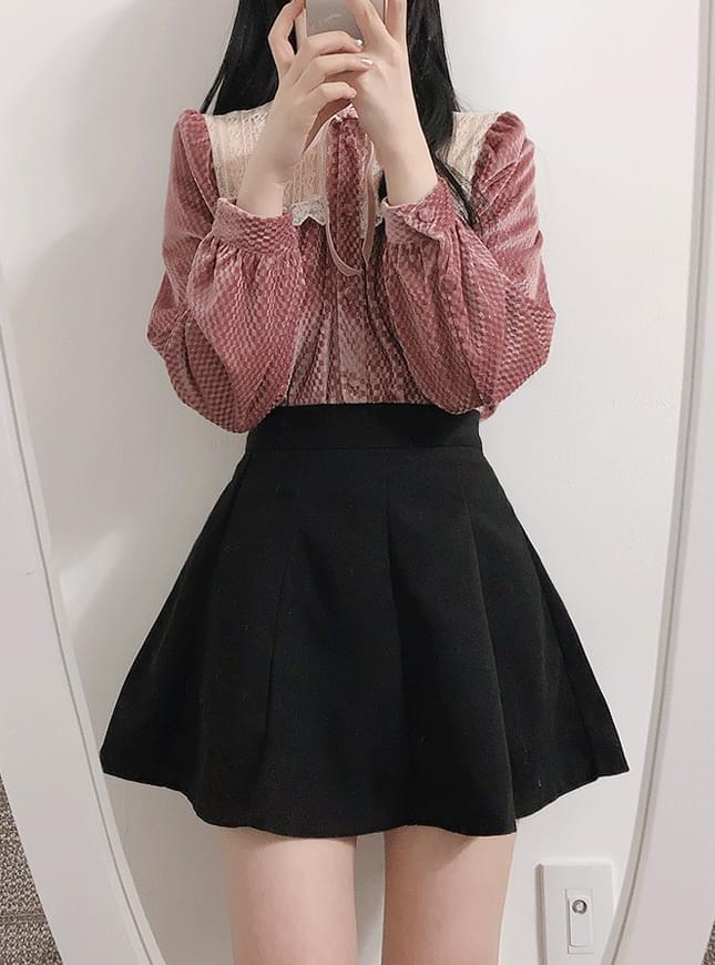 New Arrivals ♥ Kiel Suede Side Skirt