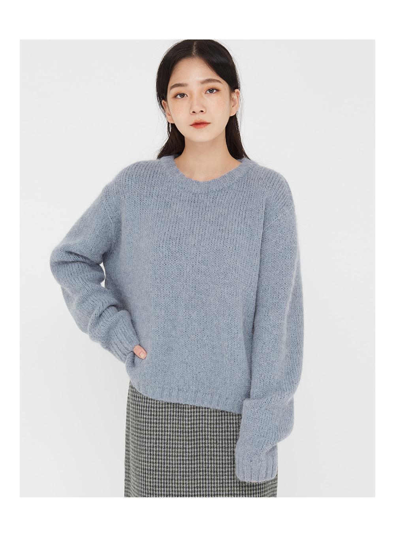 basic fall alpaca knit