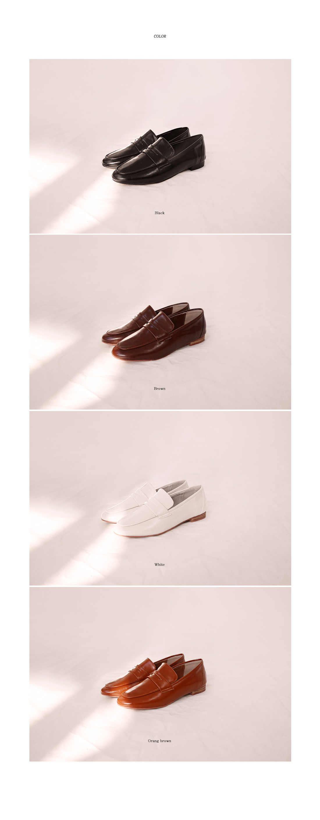 SLIM LINE PENNY LOAFER