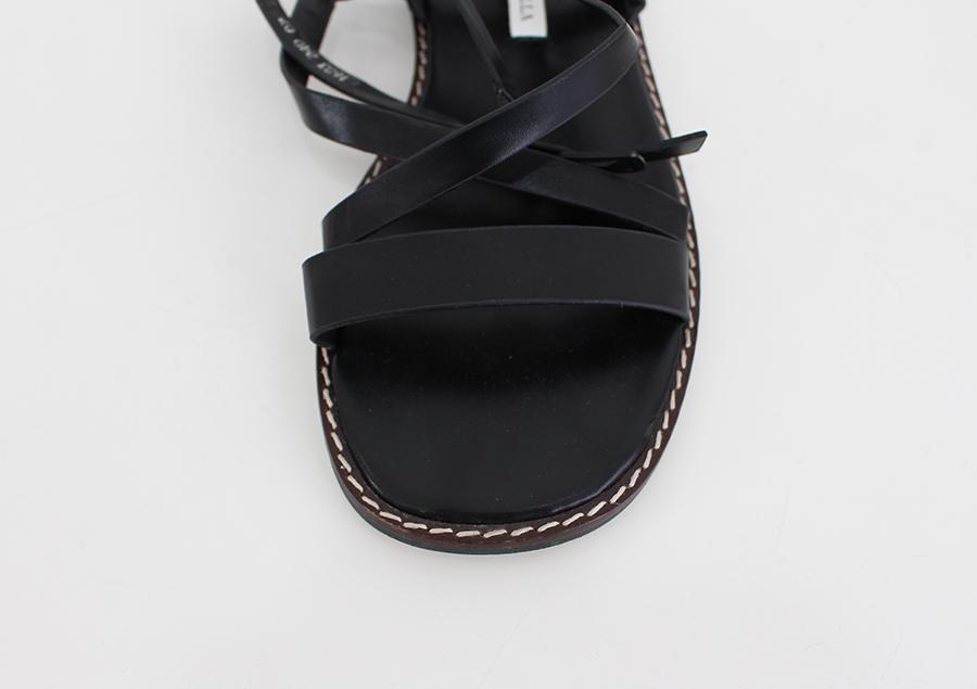 Stitch strap sandals
