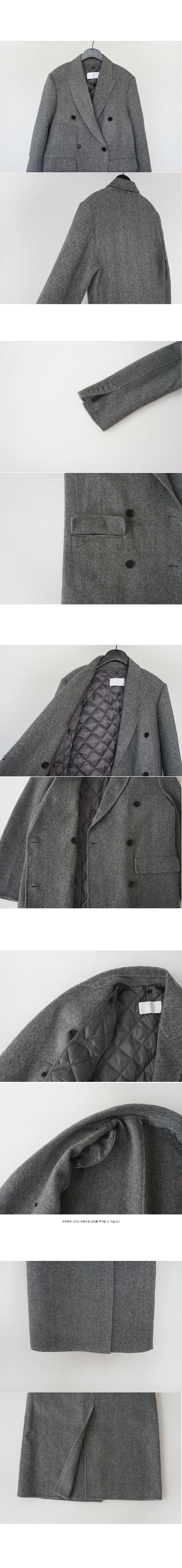 duck down inner handmade coat (3colors)