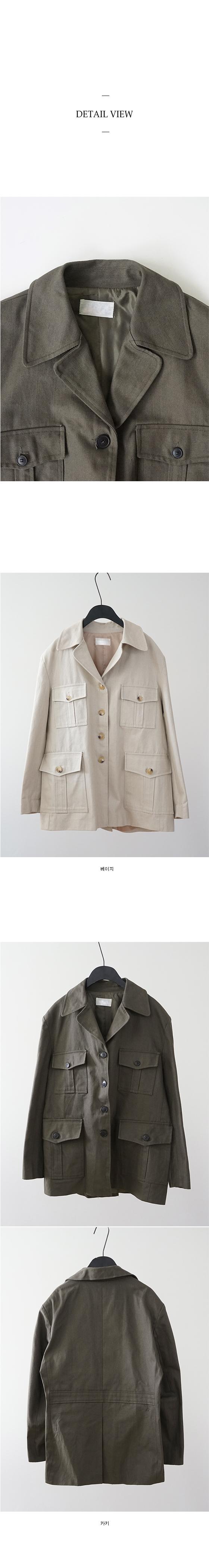 felt mannish jacket