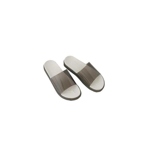 clear pvc slipper