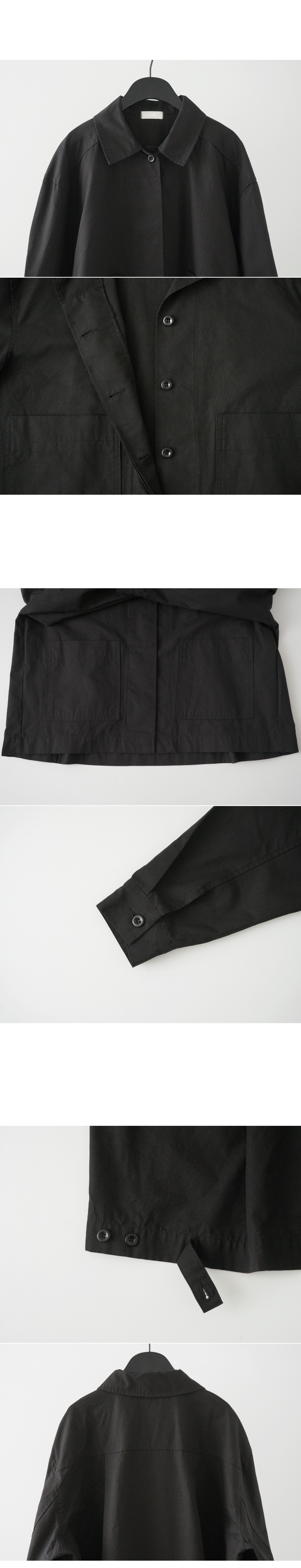 A-line over fit jacket