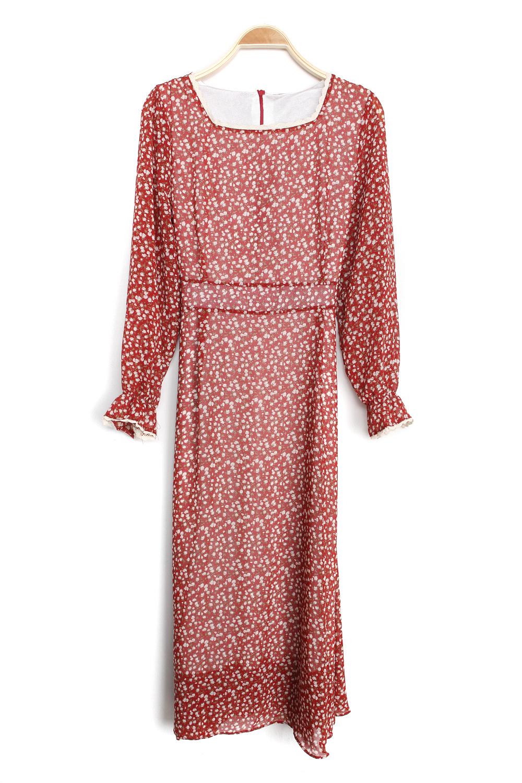 Vintage & Chiffon Dress