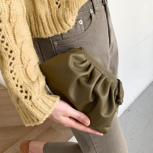Plum mini cross bag