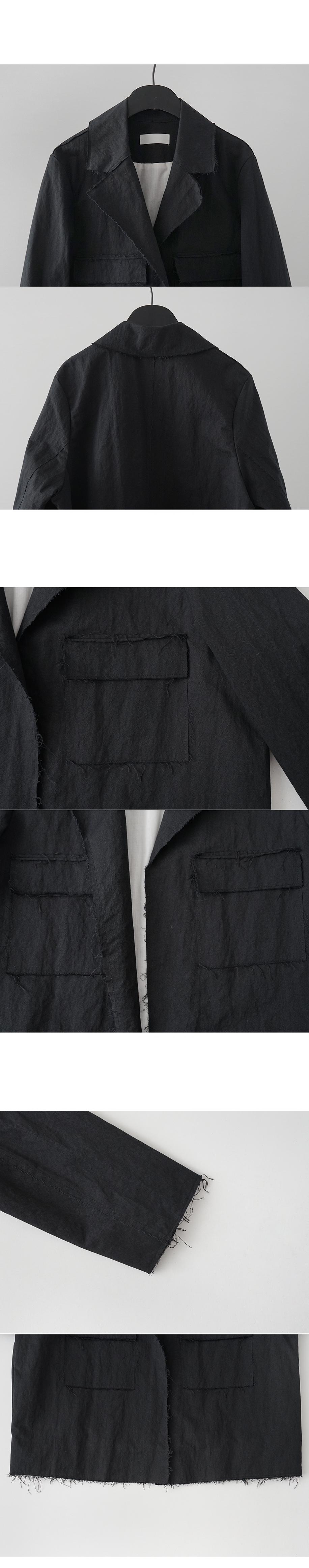 non button cutting jacket