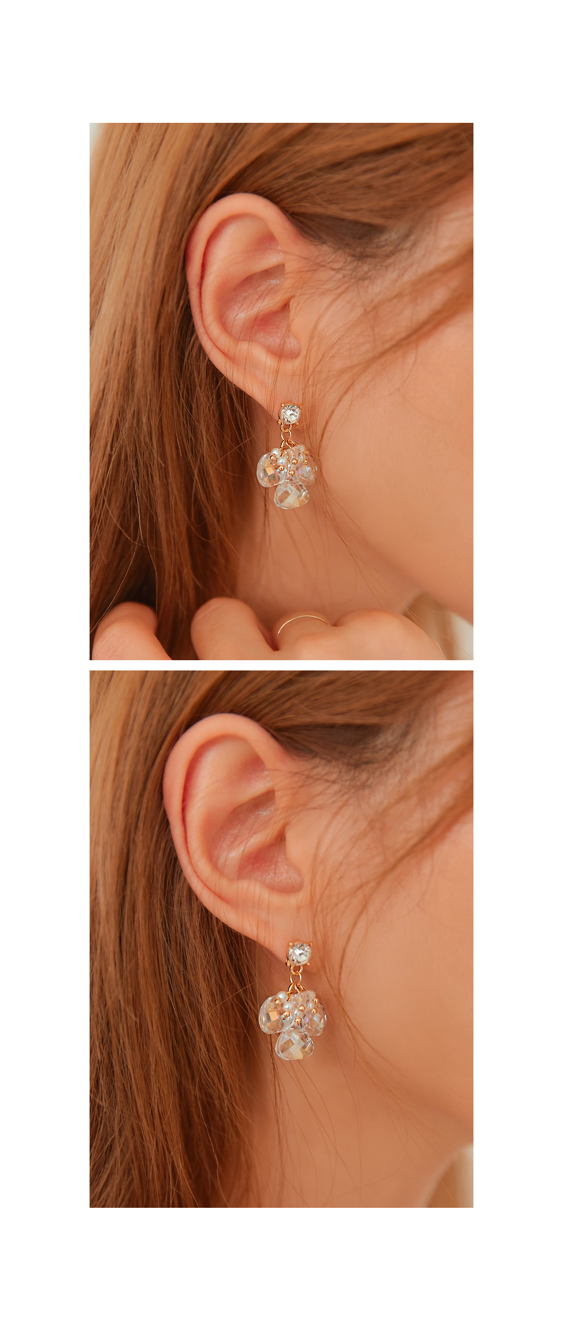 HARMONY CRYSTAL DROP EARRING