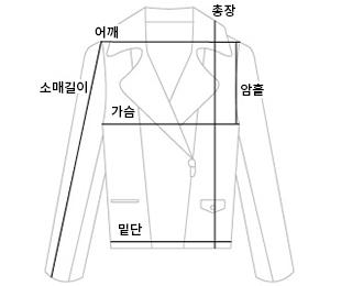 Check short handmade coat