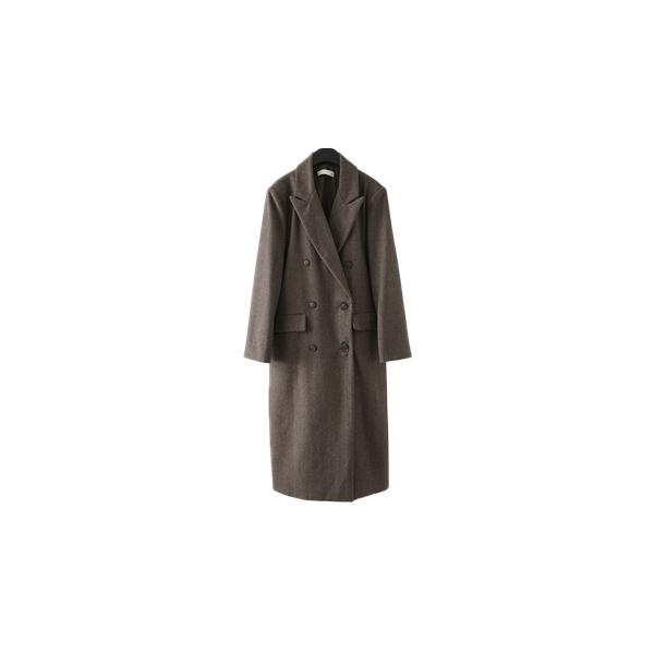 herringbone clean double coat