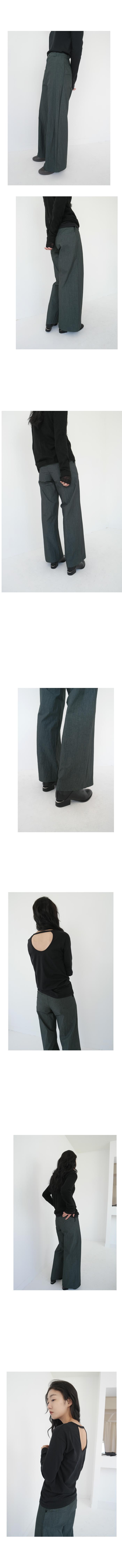 odd straight pants