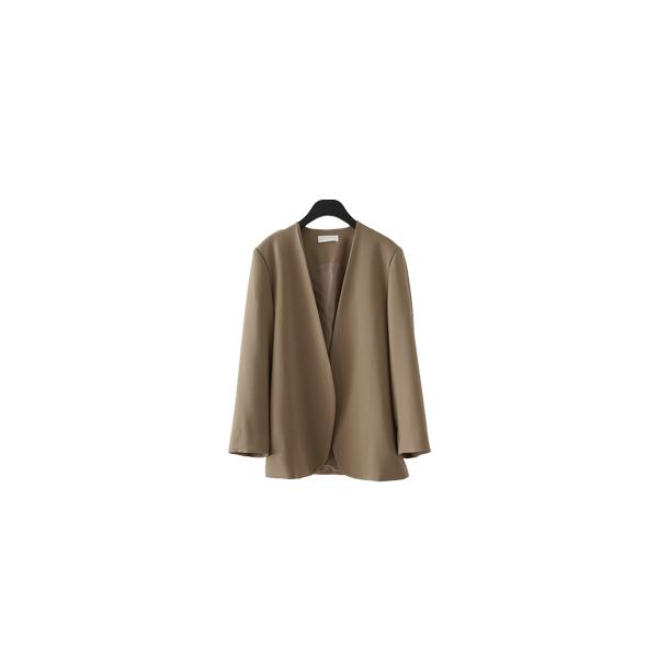 clean non collar jacket