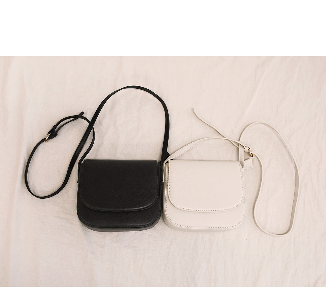 RIEN SQUARE LEATHER MINI BAG