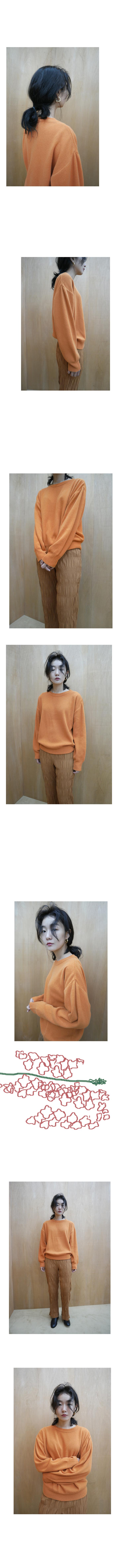 vivid color round knit
