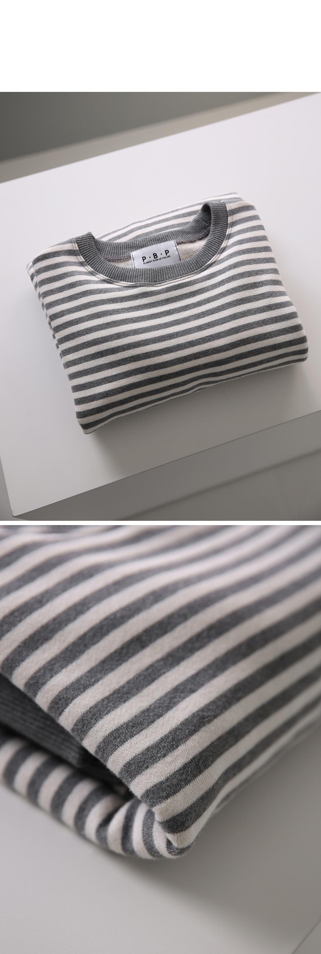PBP stripe loose slit man to man