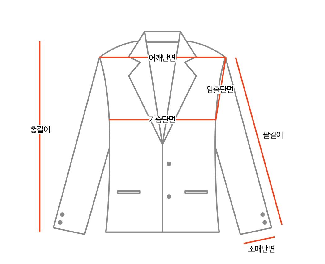 Oxford Check Wool Jacket