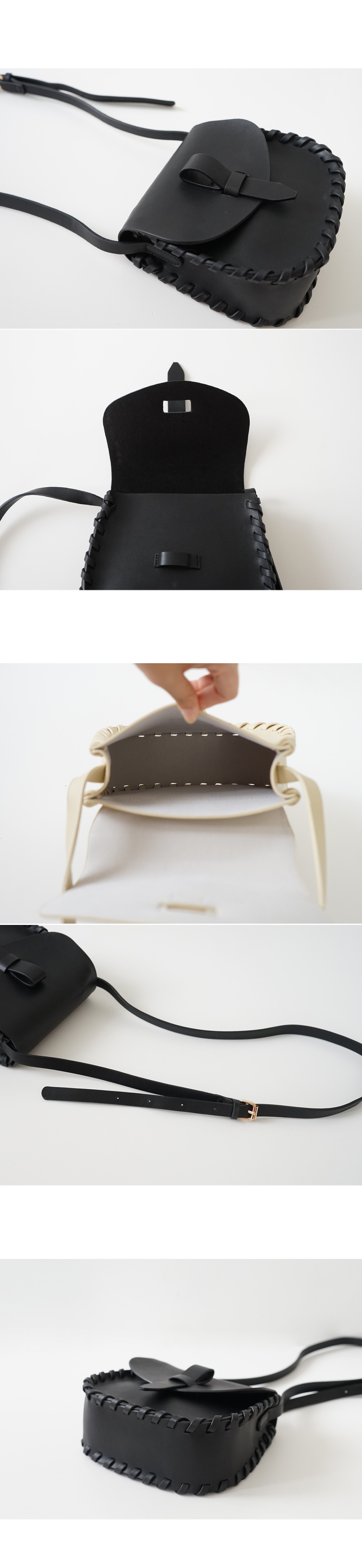 strappy side cross bag (3colors)